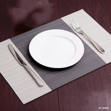 4 pcs placemats 주방 식사 테이블 장소 매트 팩 미끄럼 방지 접시 그릇 배치 열 얼룩 방지 테이블 장식 매트