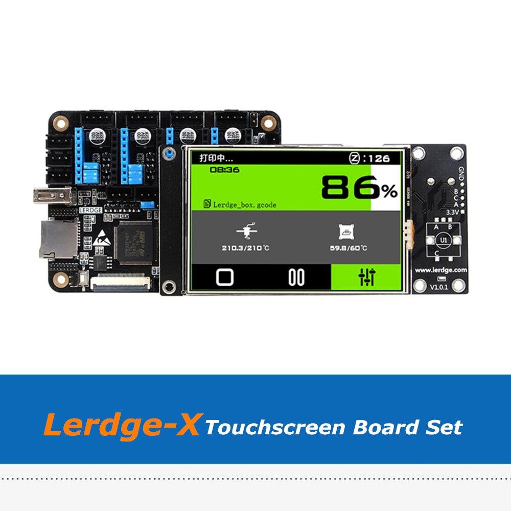 Полноцветный Сенсорный экран Lerdge X 3,5 дюйма, термистор, плата для 3D принтера, совместимая с A4988/Drv8825/TMC2100/LV8729/TMC2208