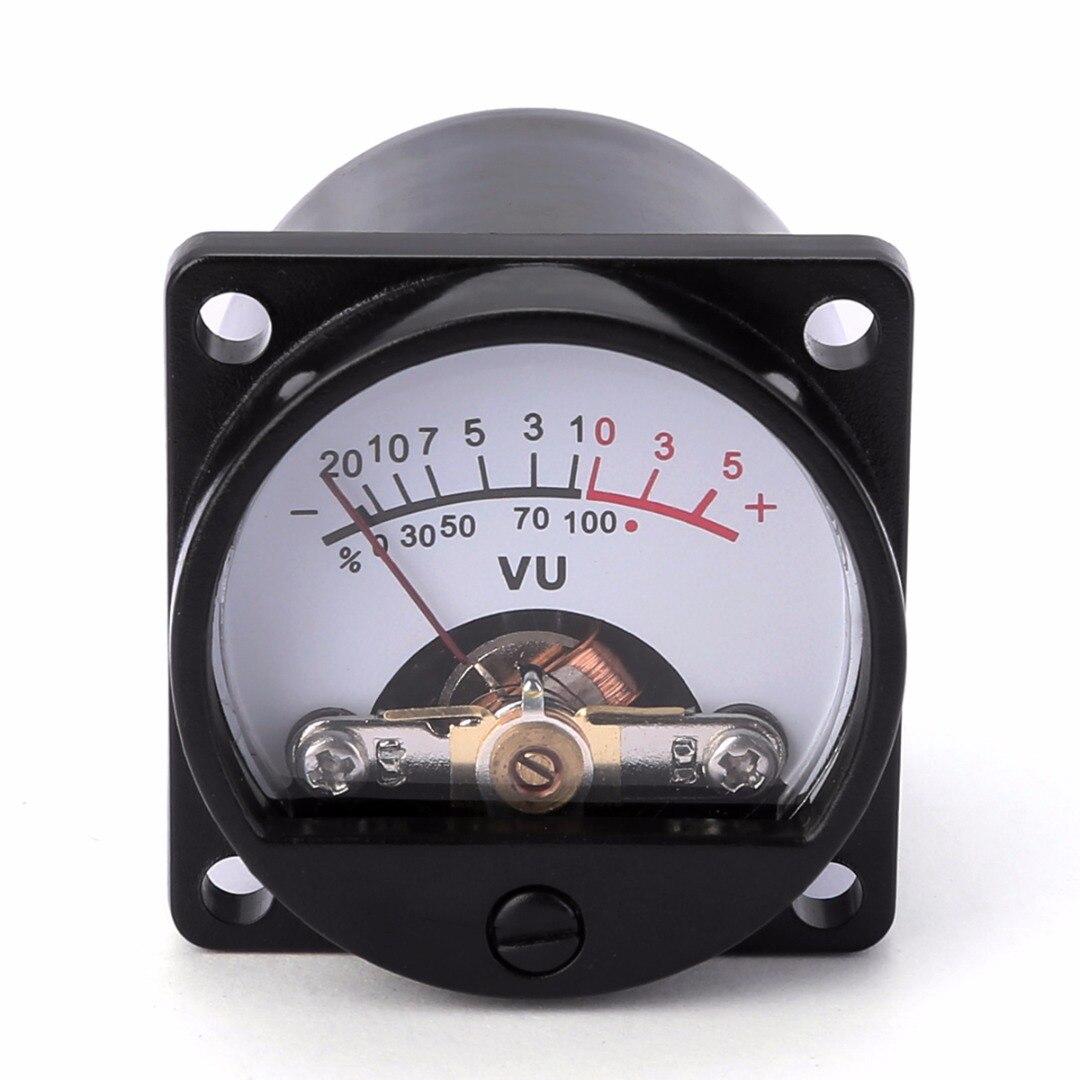 Прочный 500UA панель VU метр 6-12 в 630 Ом лампа Теплый задний свет запись аудио уровень Amp метр Mayitr