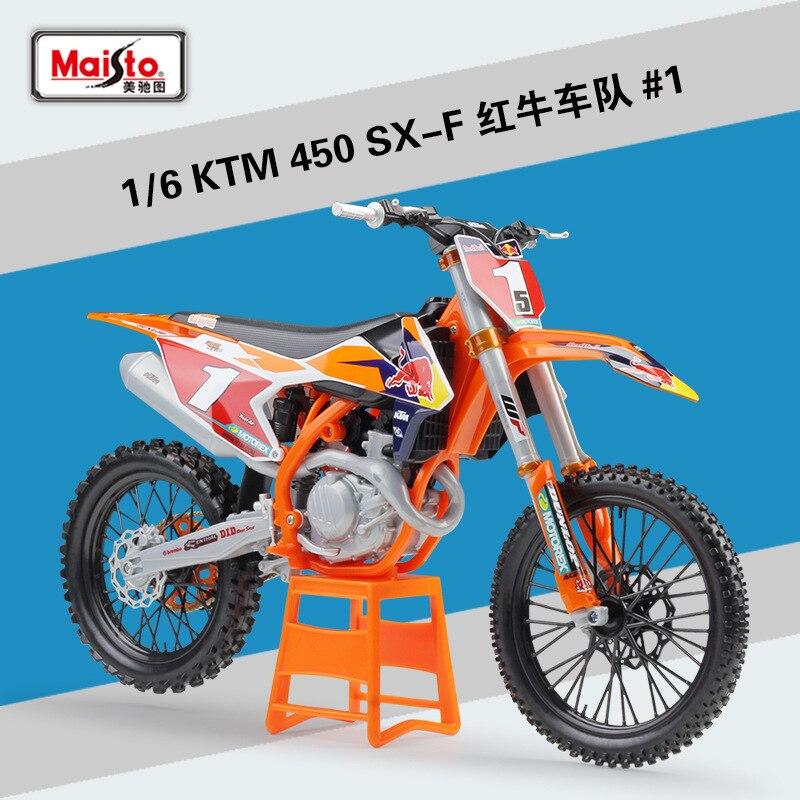 Maisto 16 KTM 450 SX-F fundición modelo de Metal carrera deportiva de la motocicleta modelo de moto para colección