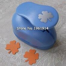 2-2.5cm four leaf clover shape punch Eva foam paper puncher for greeting card handmade Scrapbook freeshipping