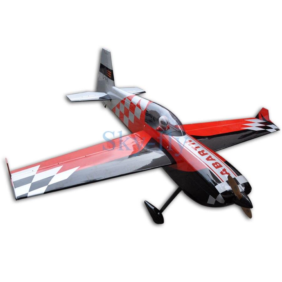 "Sky-fly F161 sell 2667mm/105 ""111-120cc 12CH ARF ala fija de madera Avión RC en EE. UU."