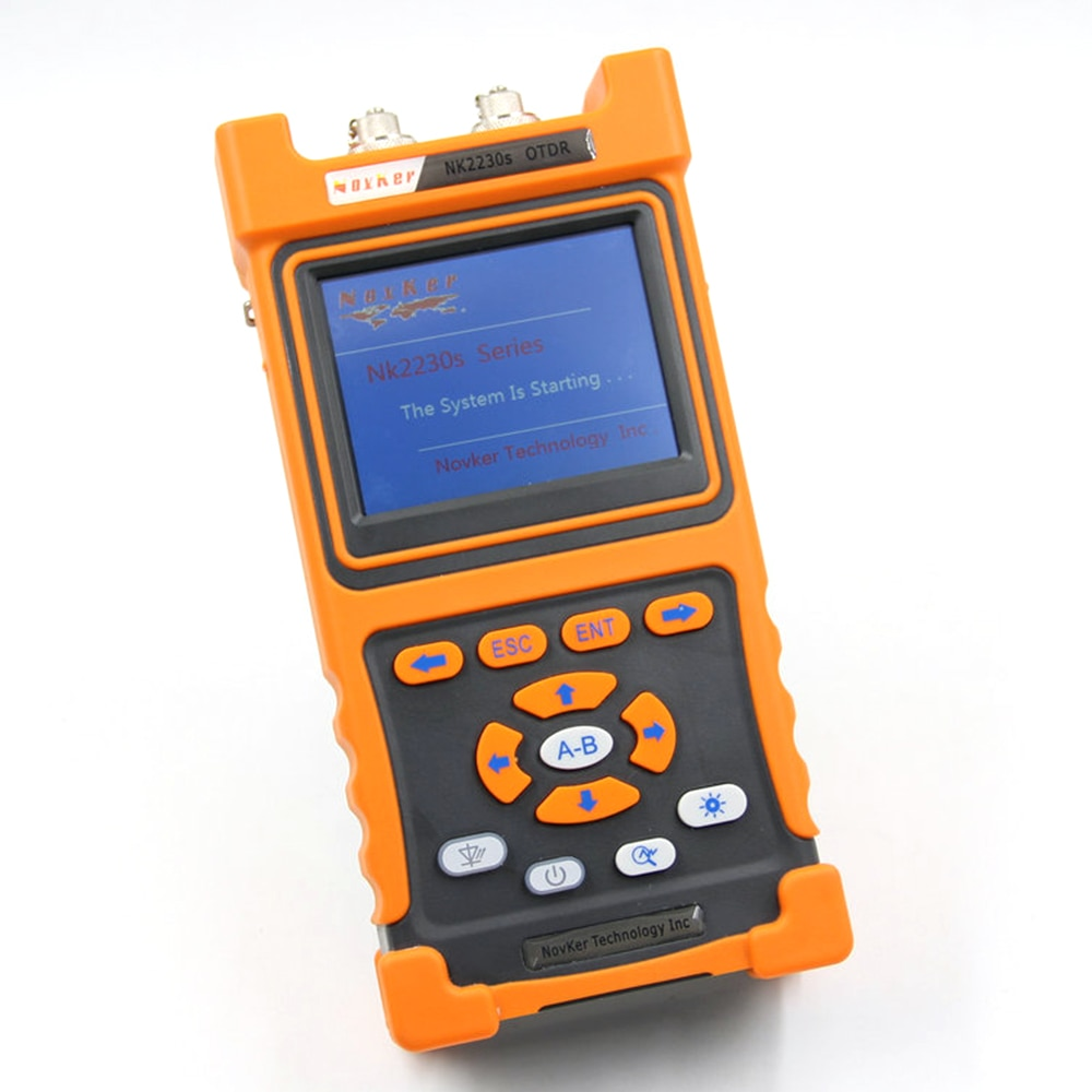 NK2230S SM OTDR 1310nm/1550nm 32dB/30dB 100km sigle-mode Optical Time Domain Reflectometer built in VFL