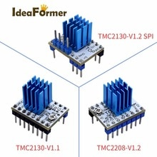 1/5pcs IdeaFormer TMC2130V1.1/V1.2SPI TMC2208 V1.2 Stepper Motor StepStick Mute Driver Silent Excellent Stability And Protection
