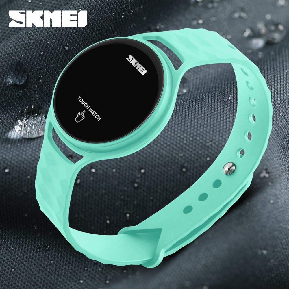 Watch Women SKMEI Brand Fashion Digital LED Touch Screen Wristwatches Men Lady sport relojes mujer women wristwatches Girl Dress