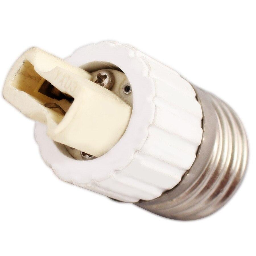 Керамический белый E27 в G9 преобразующий держатель для лампы светодиодная