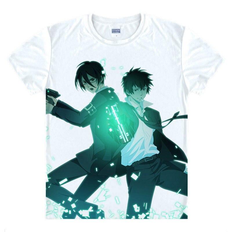 Psico-pass camiseta Shinya Kogami camiseta casual camisetas Anime y Manga bastante Cool novedad camisetas de dibujos animados camisetas lindas un