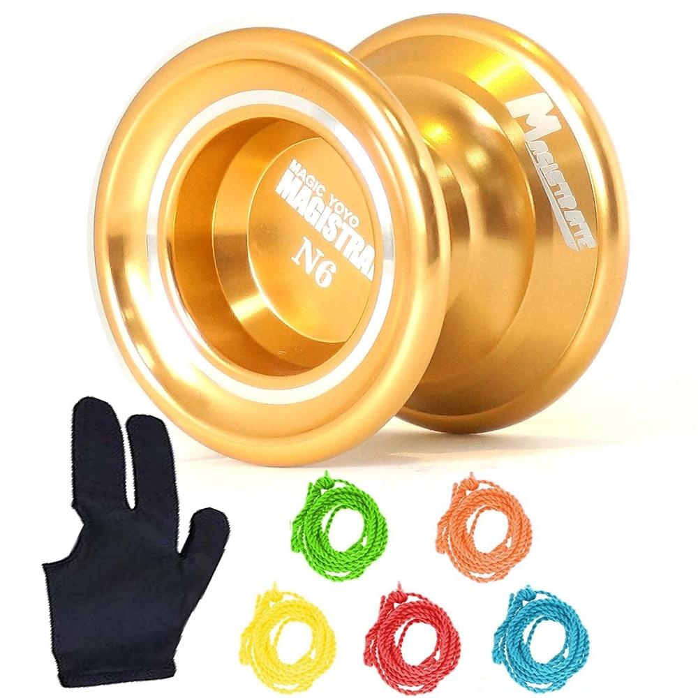 MagicYOYO Magic YoYo N6 Glod Aluminum Professional Alloy YoYo Ball (Assorted Colors)