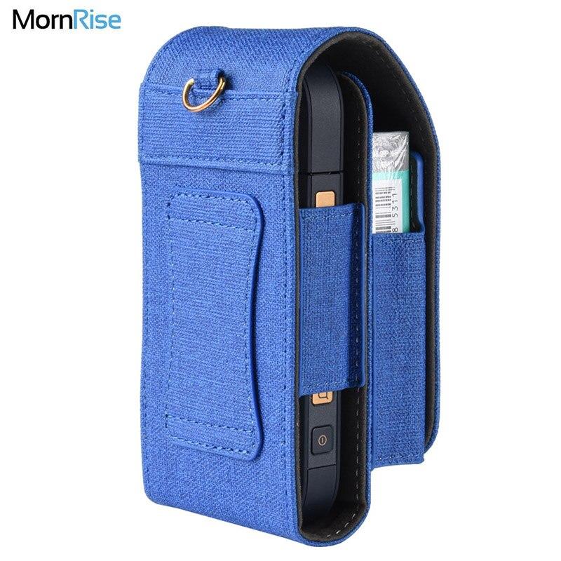 Роскошный портативный ПУ кожа для IQOS 2,4 аксессуары для электронных сигарет чехол для переноски на заказ сигареты рукав сумки для электронных сигарет