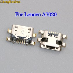 ChengHaoRan 5pcs micro USB jack Para Lenovo Vibe A7020 K52t38 K5 Nota tomada Conector Dock de carregamento Porta para meizu /redmi