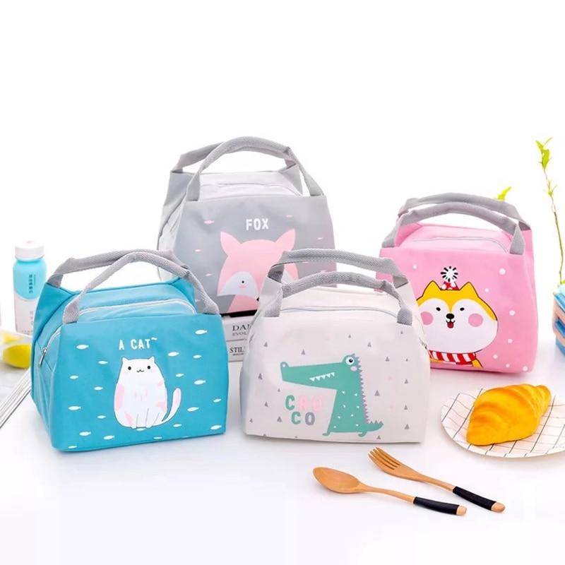 Bolsa de almuerzo con aislamiento térmico portátil caja de almuerzo neceser de viaje bolsa de Picnic caja de cena bolsa para comida accesorios de cocina