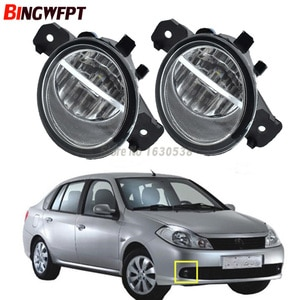 LED / Halogen Fog LIGHT Lights For Renault SYMBOL (LB0/1/2_) Saloon CLIO VEL THALIA MODUS Hatchback 1998-2015
