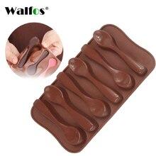 WALFOS moule à chocolats Silicone de qualité   Bonbons de biscuit de qualité alimentaire, outils de bricolage, moule à chocolats lion hippo bear moules à biscuits,
