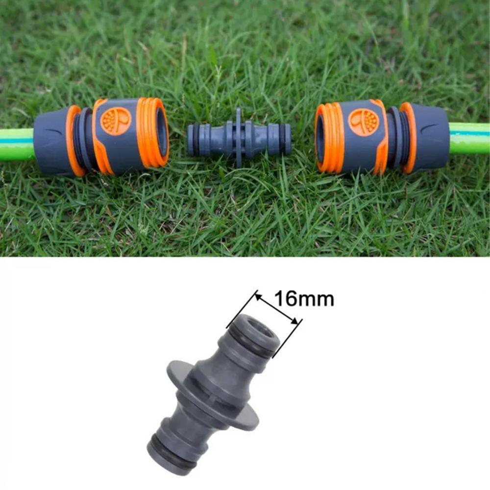 "Válvula de conector rápido de manguera de 1/2 ""3/4"" 16mm con divisor de agua, extensión de manguera, riego, conectores de tres vías para agricultura Qui"