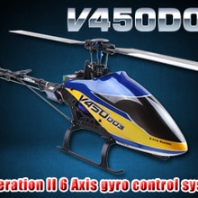 WALKERA V450D03 3D 6 Axis Gyro 6CH Brushless Helicopter BNF (With Free Gift)