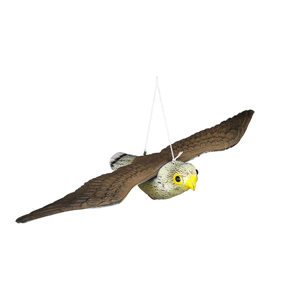 Repelente de ratones para interiores y exteriores, pájaro Falcón para caza, cebo, escultura, decoración artesanal de jardín