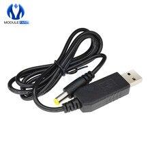 Convertisseur de Module de câble USB cc 5V à cc 12V convertisseur 2.1x5.5mm connecteur mâle 750mA bricolage électronique