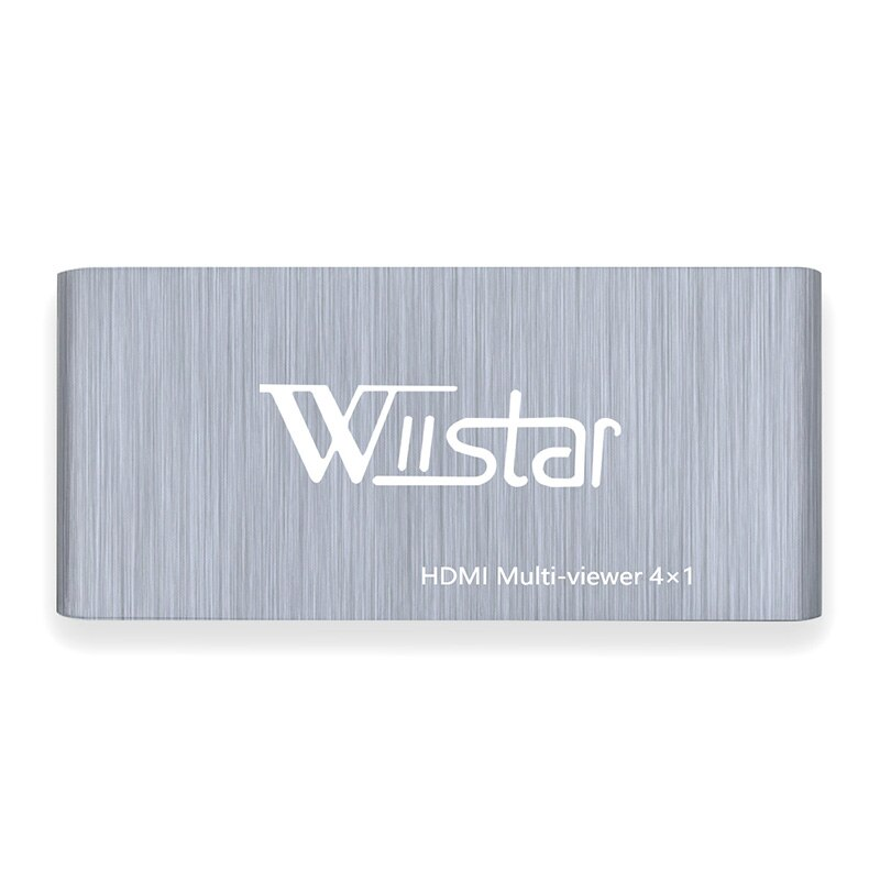 Wiistar HDMI Multi-Viewer 4x1 HDMI 4 In 1 Out HDMI Switch 4X1 Support HDMI 1.3 HDCP 1.2 HDMI 4X1