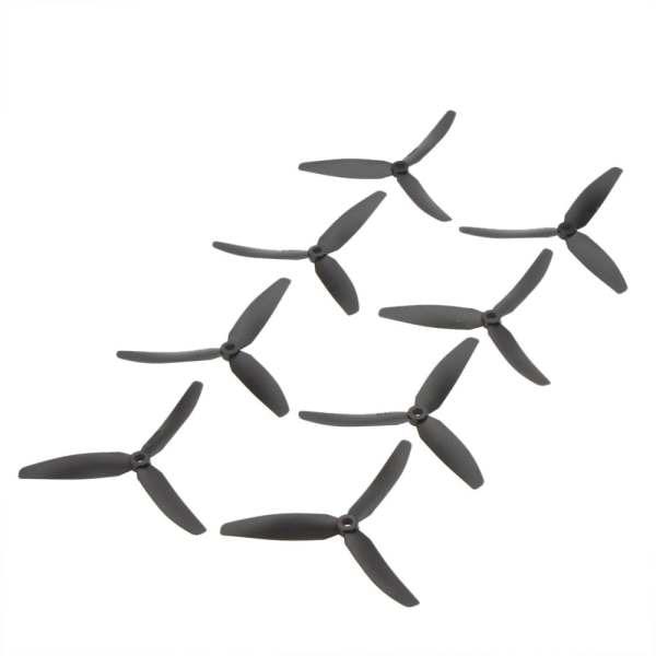 MACH, 4 pares, hélice de nailon CW CCW de 3 aspas 5030 5x3 de alto rendimiento, para cuadricóptero RC 250 F330, negro