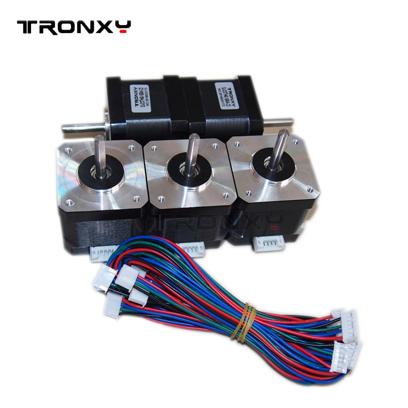 Tronxy 3D printer Part 42 stepper motor SL42STH40-1684A Nema 17 1.8A 78Oz-in motor CNC XYZ impresora 3d Accessories DIY kit Part