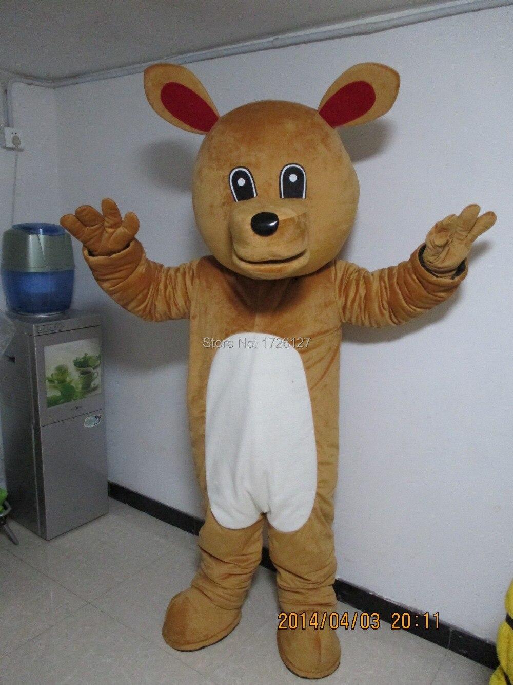 Mascota marrón disfraz de la mascota del oso personalizado disfraz de fantasía anime kits de cosplay mascotte disfraz de Carnaval