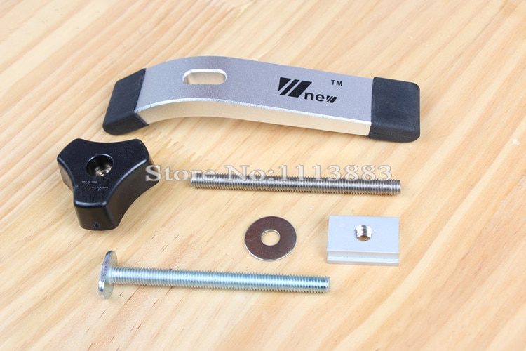 Деревообрабатывающие инструменты, 1 набор, быстросъемные зажимные зажимы для Т-образных дорожек