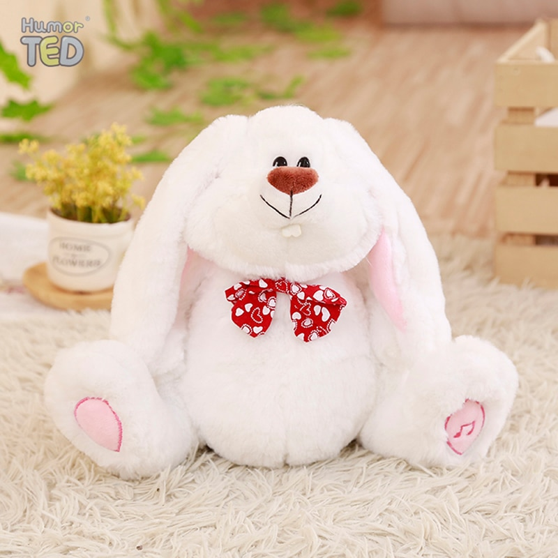Talking Flapping Ear Bunny speaking plush toys Rabbit Electronic stuffed animals for children girls boys baby Tiara