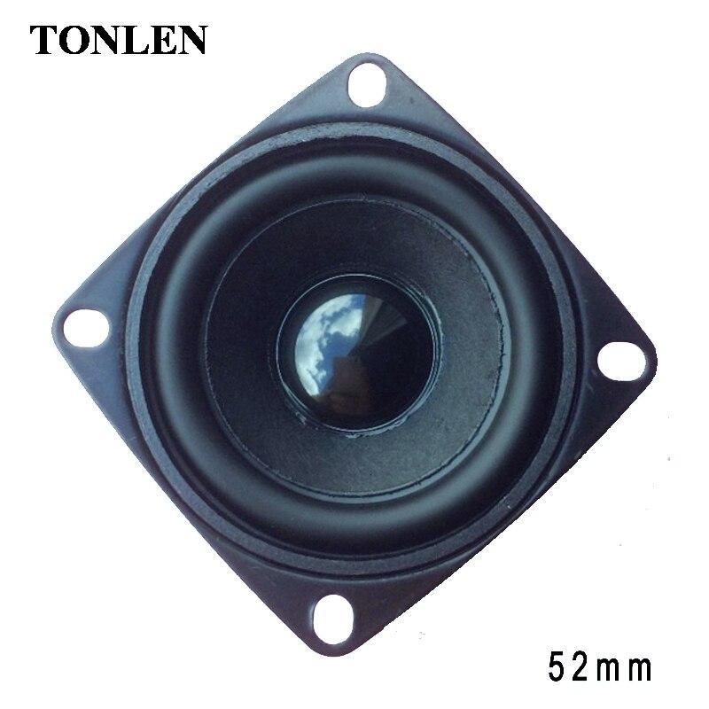 TONLEN 52 milímetros Enceinte Bluetooth Karaoke Speaker Blue Tooth Hoparlor Reproduktor Speaker Portátil Altifalante Soundbox 2 pcs/10 pcs