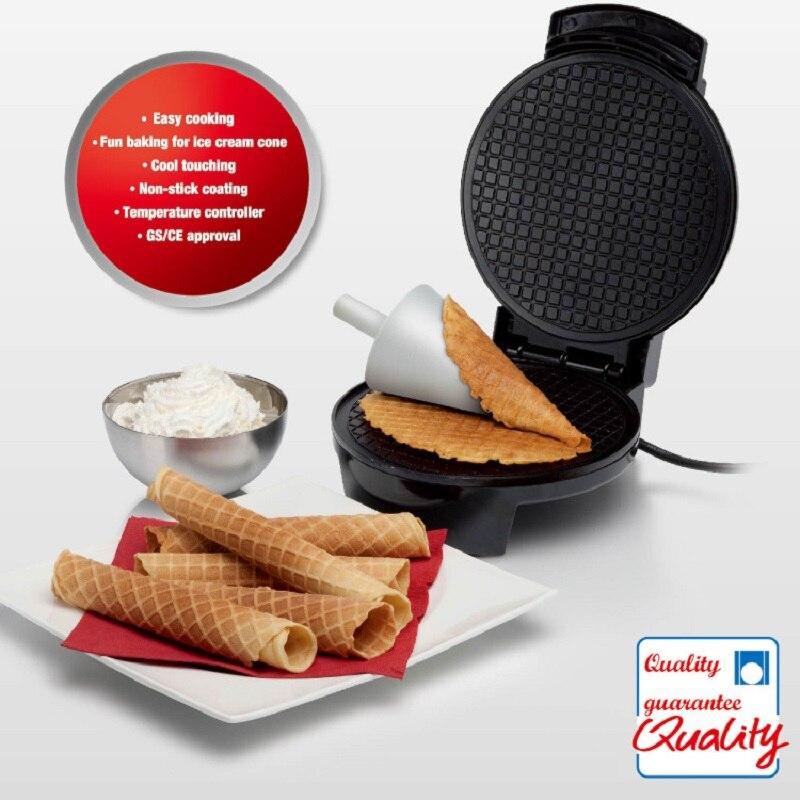 220В полностью автоматическая многофункциональная бытовая электрическая вафельница, машина для приготовления яиц в рулоне, машина для приготовления кексов, пончиков, льдогенератор