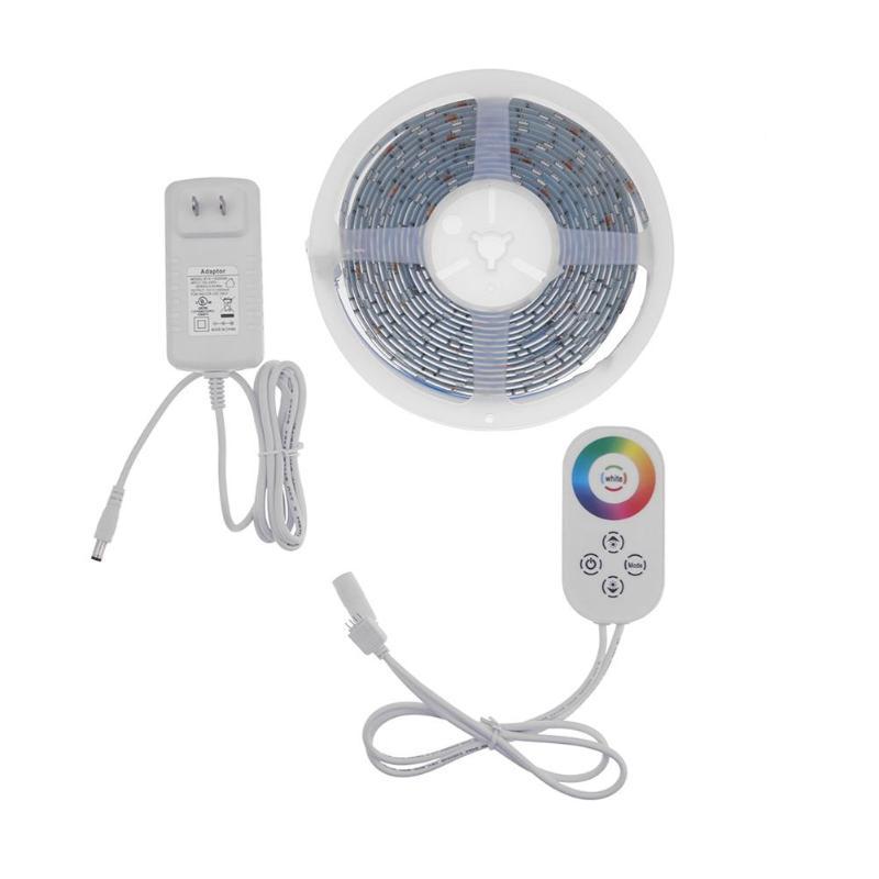 Tira de luces LED WiFi, resistente al agua IP65, Kit de tira LED para controlador Alexa