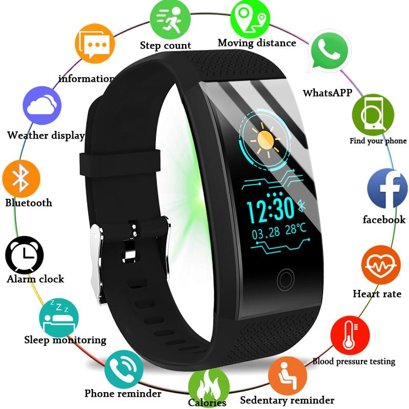 LIGE 2019 New Men Smar watch Blood pressure heart rate monitor basketball Fitness Tracker Sport Smart bracelet Reloj inteligente