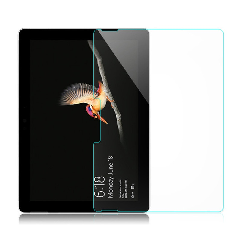New Screen Protector Tempered Glass for Microsoft Surface GO / SurfaceGO 10.1 inch 2018 Tablet Ultra Clear Tempered Glass Film