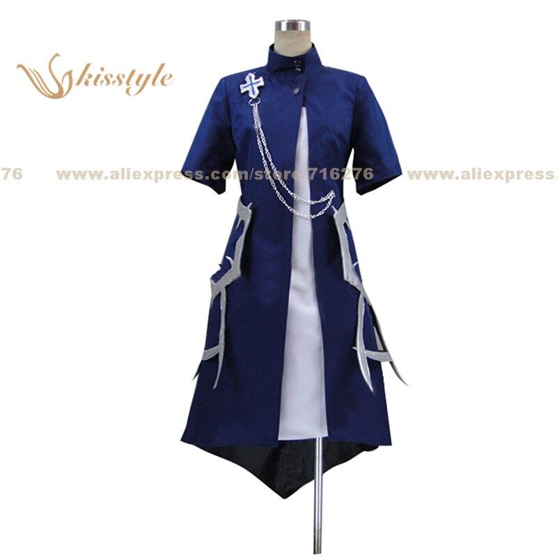 Moda kisstyle Rokka Guerreros de los seis flores Mora Chester uniforme porque ropa Cosplay traje personalizado aceptado