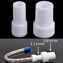 Nuevo 2 uds herramienta de dentista desechable tubo de succión Dental quirúrgico convertidor de Saliva giratorios eyector adaptador de aspiración consejos Autoclavable