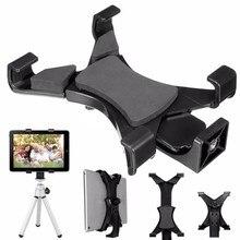 "Abrazadera de montaje de trípode Universal para tableta con adaptador de rosca de 1/4 ""para iPad 2/3/4/Air/Air2 /mini para Galaxy Tablet soporte de teléfono"