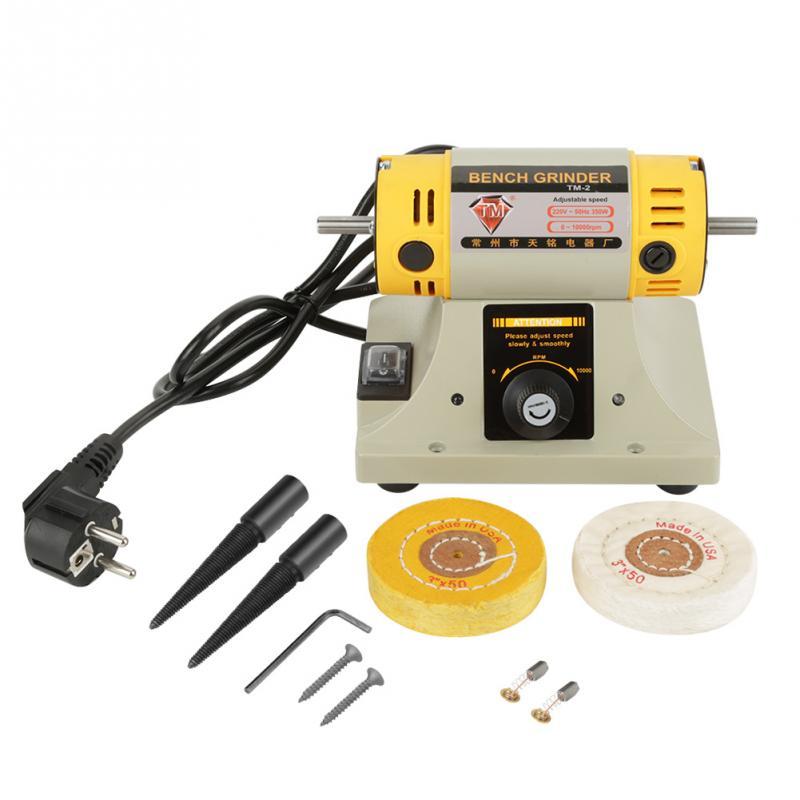 220V 350W Eu-stecker Elektrische Grinder Polieren Maschine für Schmuck Drehmaschine Motor Neue