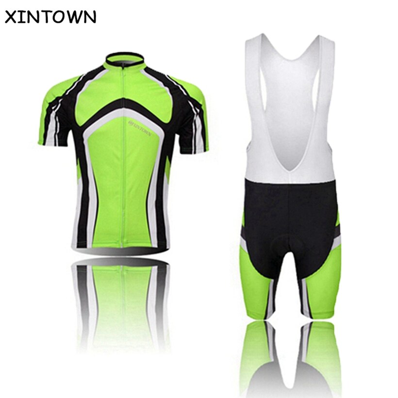 Camiseta de bicicleta de carretera verde, camiseta para bicicleta de montaña, camiseta de ciclismo de manga corta, ropa para hombre, ropa transpirable