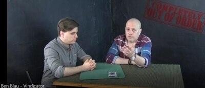 Completamente fuera de orden: Vindicator de Ben Blau-trucos de magia
