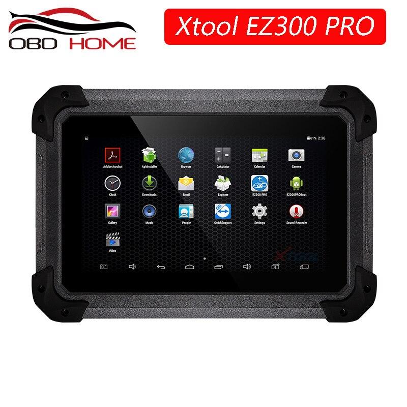 Mejor XTool EZ300 Pro con motor de diagnóstico de 5 sistemas ABS SRS transmisión y TPMS mejor que MD802, TS401 actualización gratuita en línea