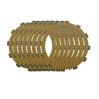 motorcycle engine parts clutch friction plates kit for kawasaki zx750 zx 750 ninja 750r 1987 1990 cp 0009