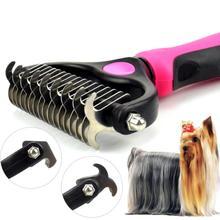Peigne débosselage pour chiens   Brosse pour débosselage, outil de toilettage pour poils longs matés, peigne pour chiens