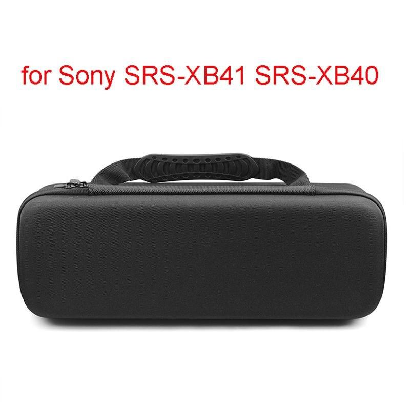 Funda para SONY SRS-XB41 SRS-XB440 XB40 XB41 Altavoz Bluetooth Anti-vibración bolsa de partículas funda de transporte duro R20