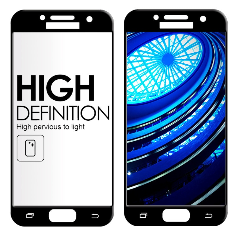 2.5D Completa Tampa de Vidro Temperado para Samsung Galaxy Vidro A5 2017 A520 para Samsung Galaxy UM 9 5 2017 UM Filme Protetor De Tela 520 H