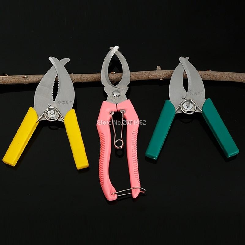 Tijeras para anillas de corteza, escariador, herramientas de podar, huerto de cerezas, huerto, poda de uva, huerto, herramientas de jardín, B119
