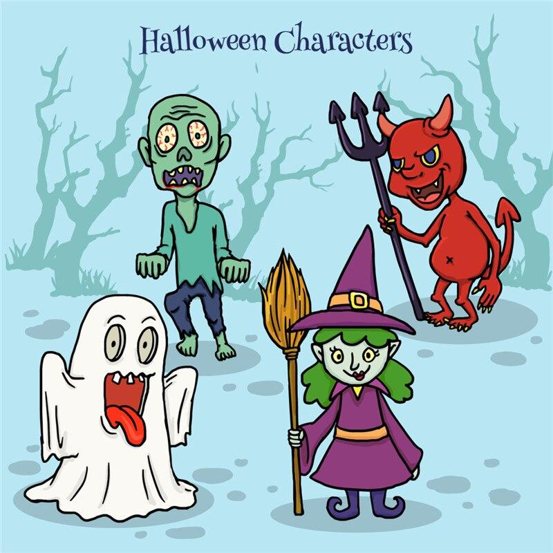 YaMinSanNiO/decoración de Halloween/sellos transparentes claros para álbum de recortes DIY/fabricación de tarjetas/sellos de fantasma de Halloween suministros divertidos