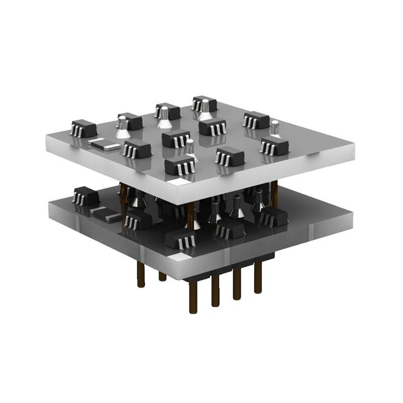 Sx22B Dual discreto Op Amp Chip Módulo de Audio de alta fidelidad, placa preamplificadora-alambre actual