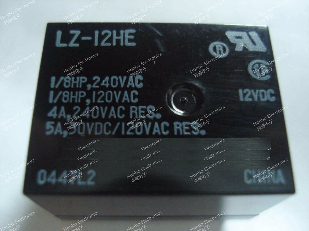 Nova Relé de Potência LZ-12HE 12VM-K LZ-24W 24VM LZ-B12VM5R-C LZ-B24VM5R-C