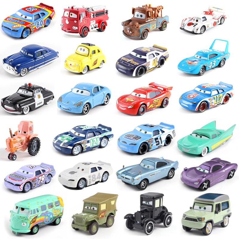 Disney Pixar Cars 3 39Styles Lightning McQueen Mater Jackson Storm Ramirez 1:55 Diecast Metal Alloy