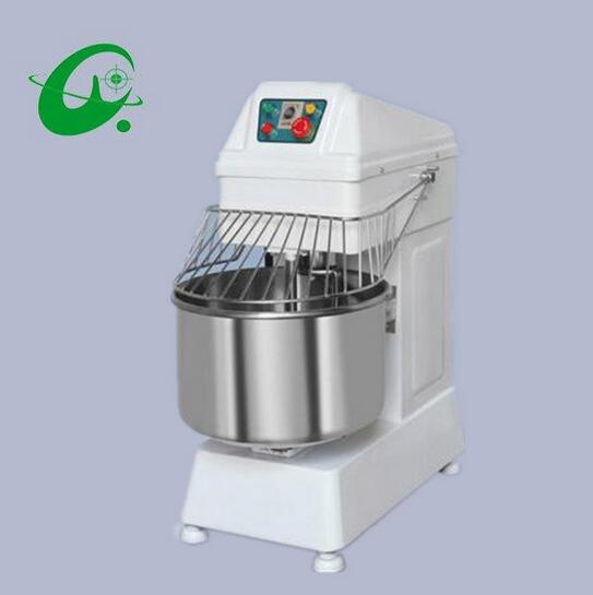 Capacidad 25KG de harina comercial de doble acción mezclador de masa de dos velocidades mezclador de harina amasadora máquina mezcladora de harina