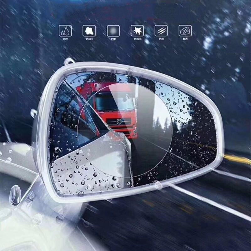 Osmrk universal HD película resistente al agua anti-niebla anti-lluvia para asiento León CUPRA FR 4 Uds